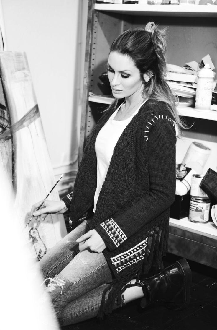 Carolina Gynning Artist from Stockholm Sweden.