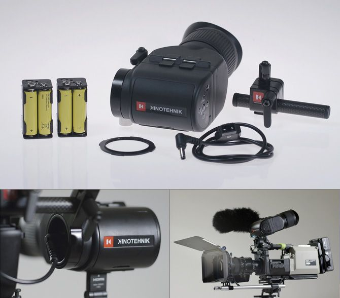 Kinotehnik - LCDVFE. LCDVFe is an universal production style electronic viewfinder with Retina-like display, superior ergonomics and realtime response unique to the industry.