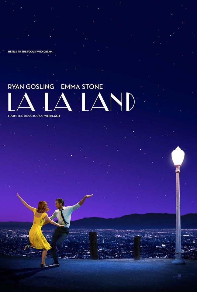 Here's to the fools who dream. Check out the new festival poster for #LALALAND, starring Ryan Gosling and Emma Stone!