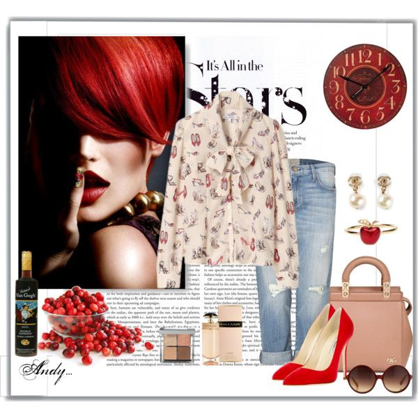 """Classy in red..!!!"" by andyts on Polyvore"