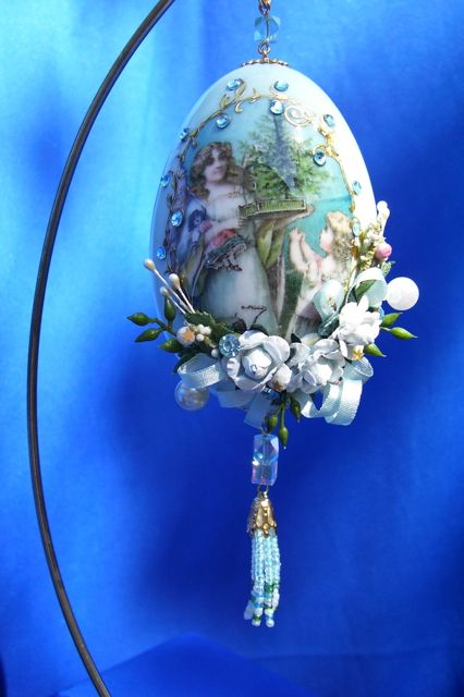 Christmas - christmas Ornaments - Christmas tutorial link - victorian ornament