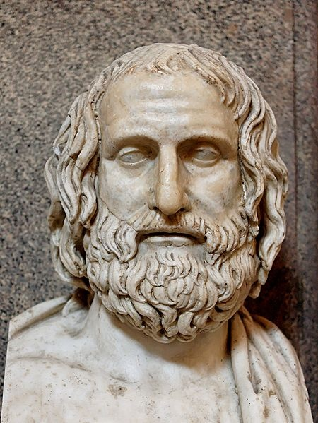 Euripides - ancient Greek playwright: