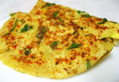 Egg Paratha #TravelToIndia | #Food
