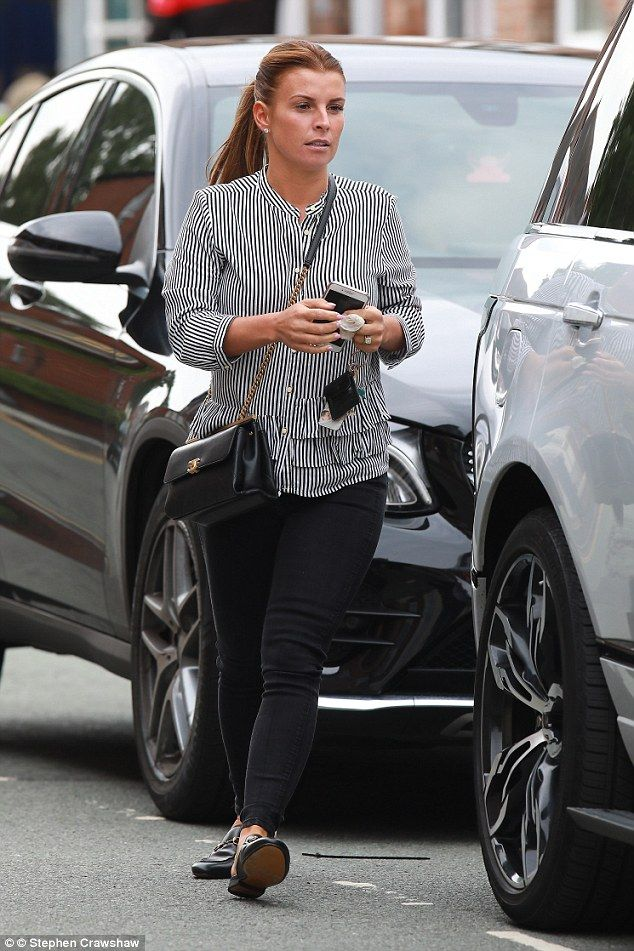 fbcd91f1b0bb Coleen Rooney hits favourite UK stores during Cheshire shopping spree |  Daily Mail Online