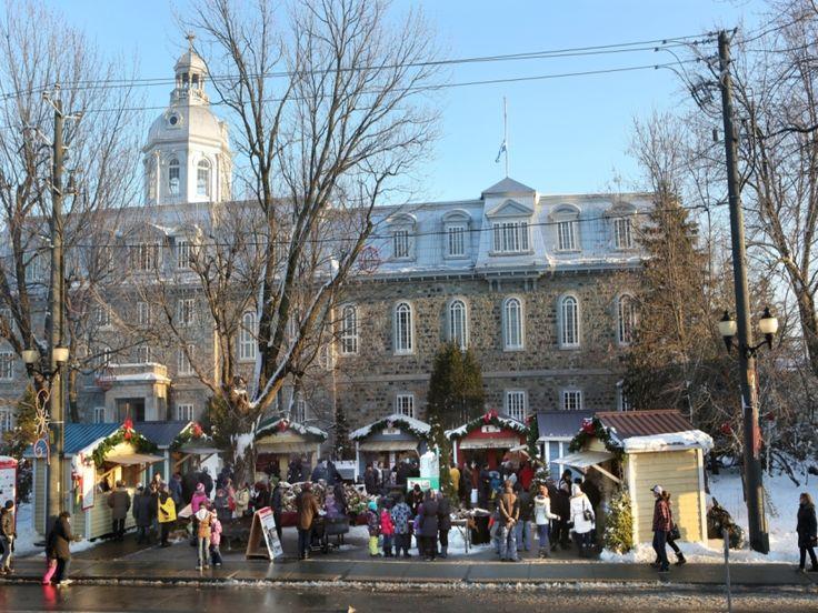 Marché de Noël de L'Assomption. Marché situé à L'Assomption, situé sur les terrains adjacents du Collège de l'Assomption. Retrouvez la magie de Noël en compagnie d'artisans et de producteurs du