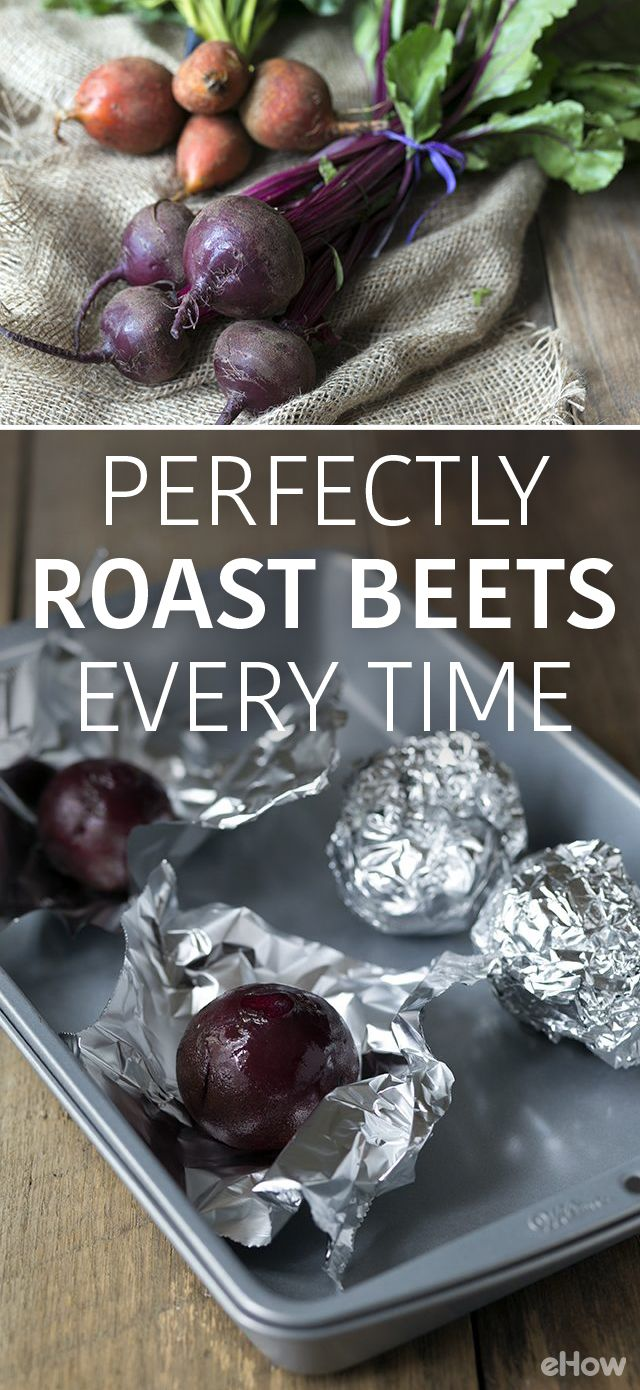 Roasting beats at home is easy with this how-to!  Don't buy the prepackaged roasted beets when you can save so much money and do it yourself easily: http://www.ehow.com/how_8183264_roast-fresh-beets.html?utm_source=pinterest.com&utm_medium=referral&utm_content=freestyle&utm_campaign=fanpage