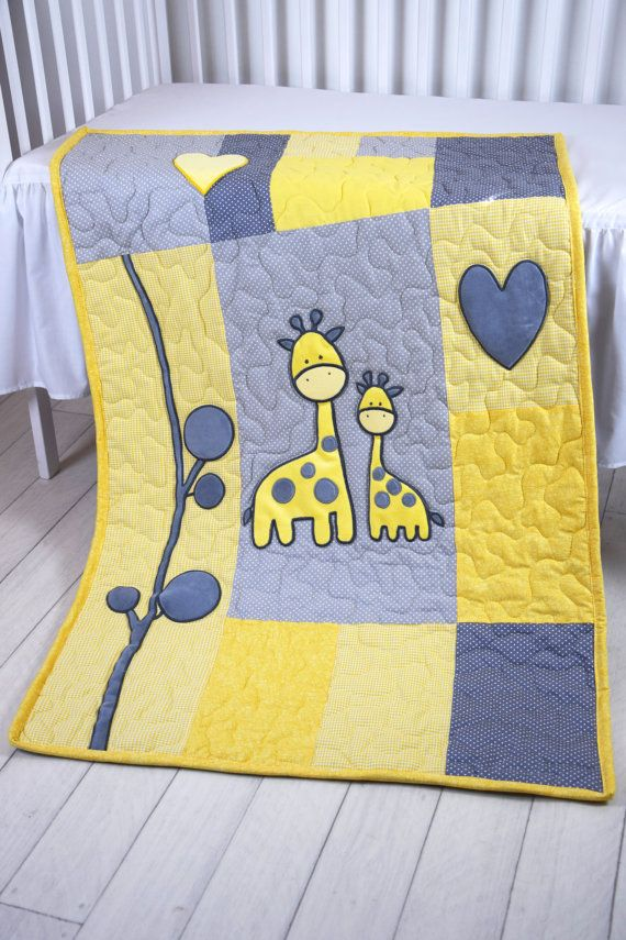 One of a kind, this guilt is all the things you would want in a Giraffe Safari blanket!  I always liked the nurseries, what inspired by the