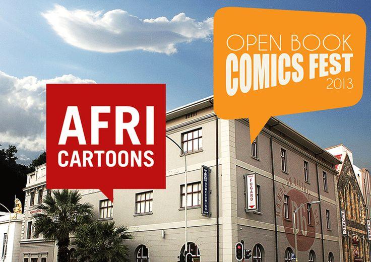 AFRICARTOONS at the 2013 Open Book COMICS FEST