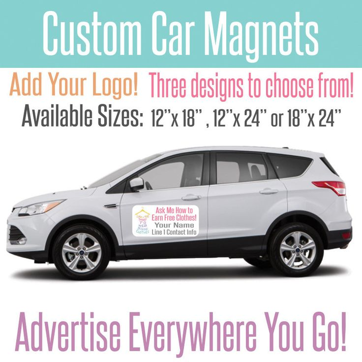 Best Ideas About Custom Car Magnets On Pinterest Travel Kits - Custom car magnets