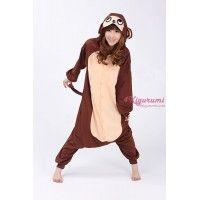 Cute adult monkey onesie kigurumi pajamas - monkey onesie, adult monkey onesie, monkey kigurumi, adult monkey kigurumi, monkey kigurumi pajamas, kigurumi pajamas - See more at: http://www.4kigurumi.com/animal-adult-onesie-monkey-kigurumi-pajamas
