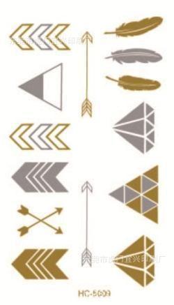 2015 golden tatto body art metallic temporary tattoo jewelry bracelet flash tattoo arrow diamond feather gold tatoo HC 5009-in Temporary Tattoos from Health & Beauty on Aliexpress.com | Alibaba Group