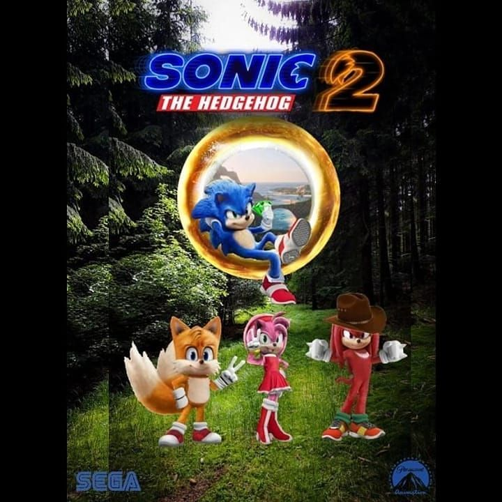sonic the hedgehog movie 2 poster