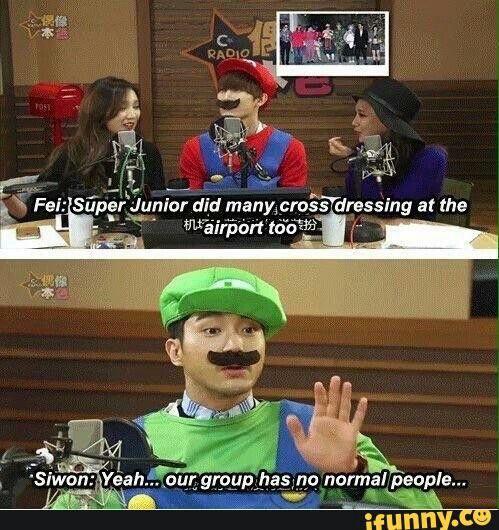 LooooooL Super Junior #Siwon is like me when I describe me and my friends #XD