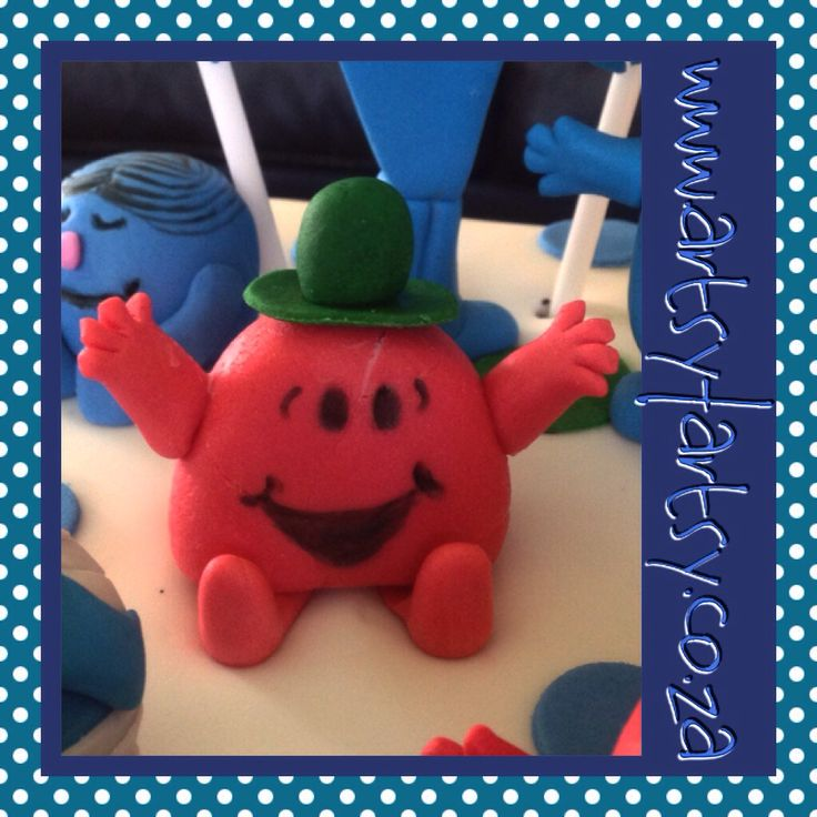 Mr Men, Mr Chatterbox Sugar Figurine #mrmensugarfigurine #mrchatterboxsugarfigurine