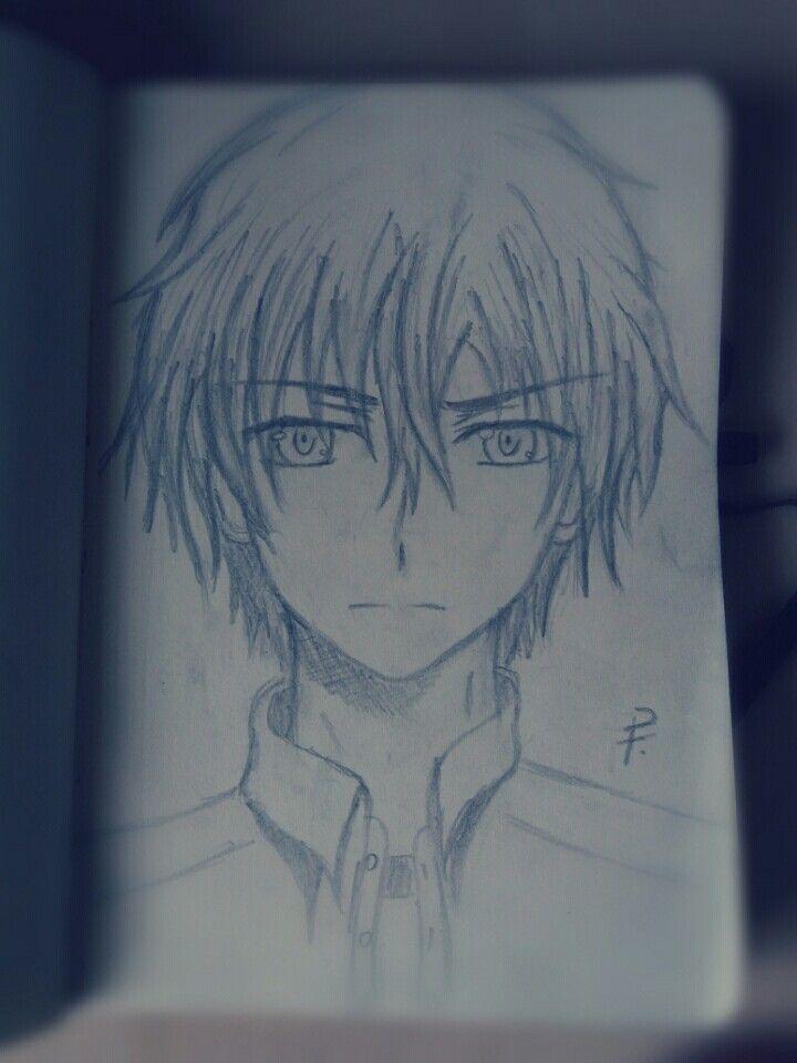 My first sketch of Shunsuke Otosaka