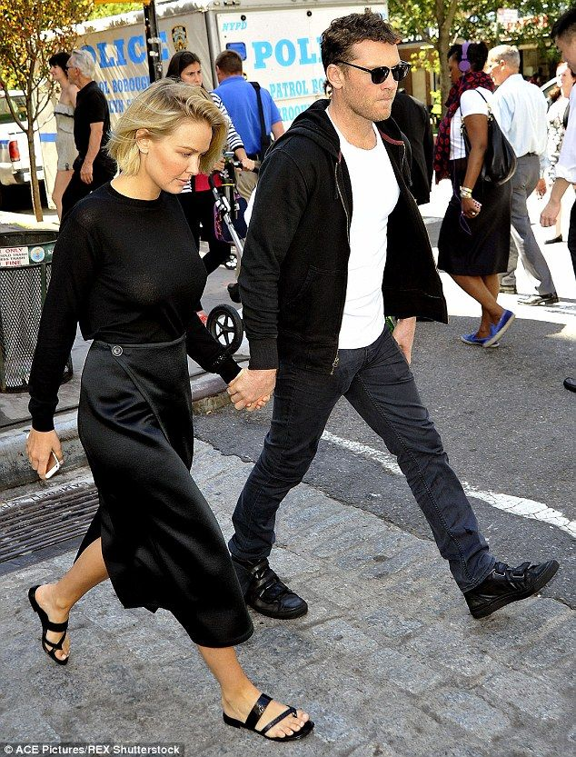 Back in fine form: Lara stepped out in the exact same ensemble in September last year, jus...