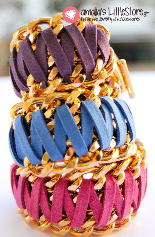 My handmade bracelets @ littlestore.gr