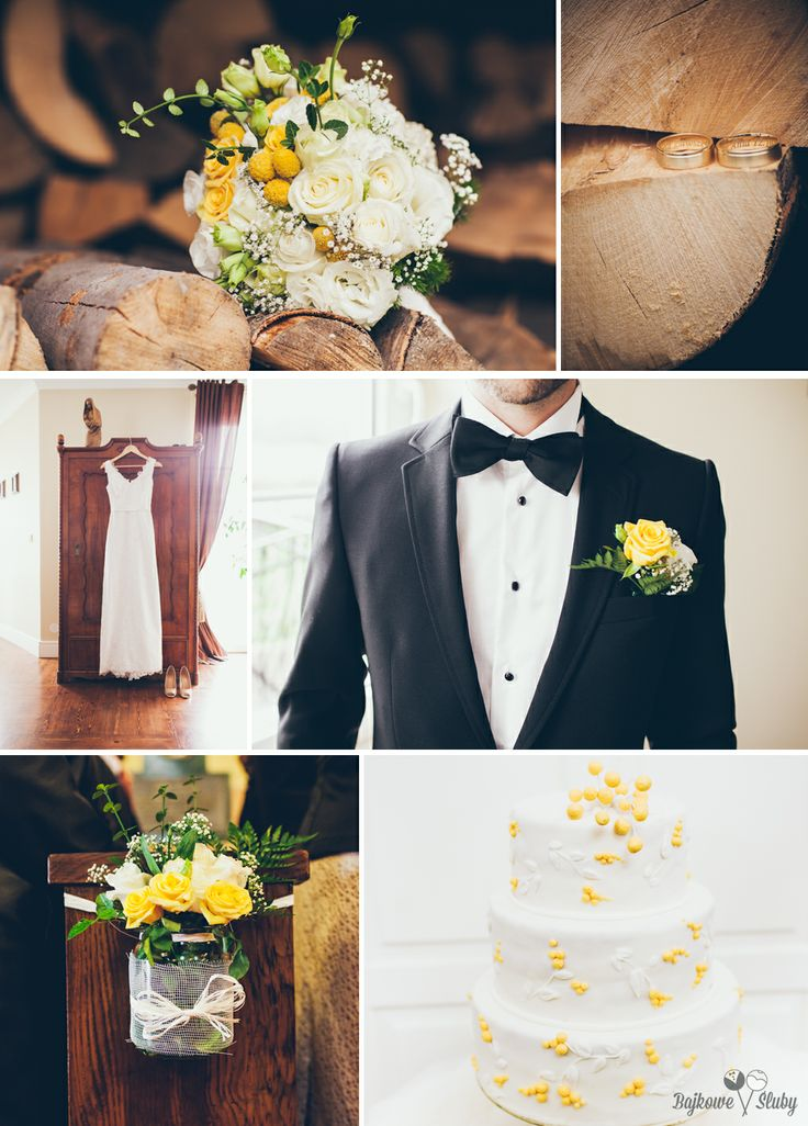 #yellowwedding #weddingdress #weddingcake #ślub #bajkowesluby