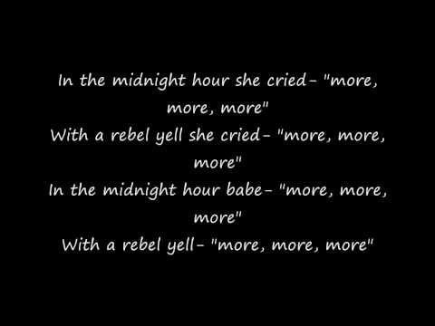 Billy Idol Rebel Yell Lyrics