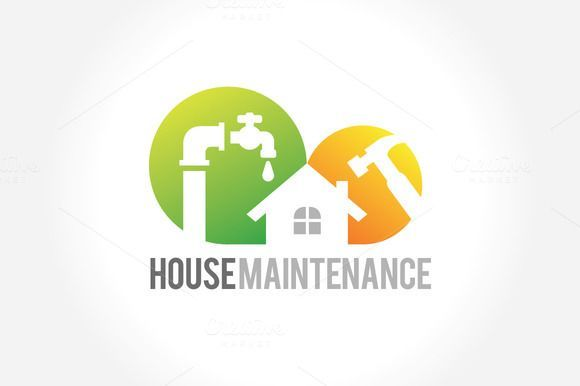 Hausreparatur Und Wartung Creativework247 Schriftarten Grafiken Designs Vorlagen In 2020 Haus Reparatur Schriftarten Grafiken
