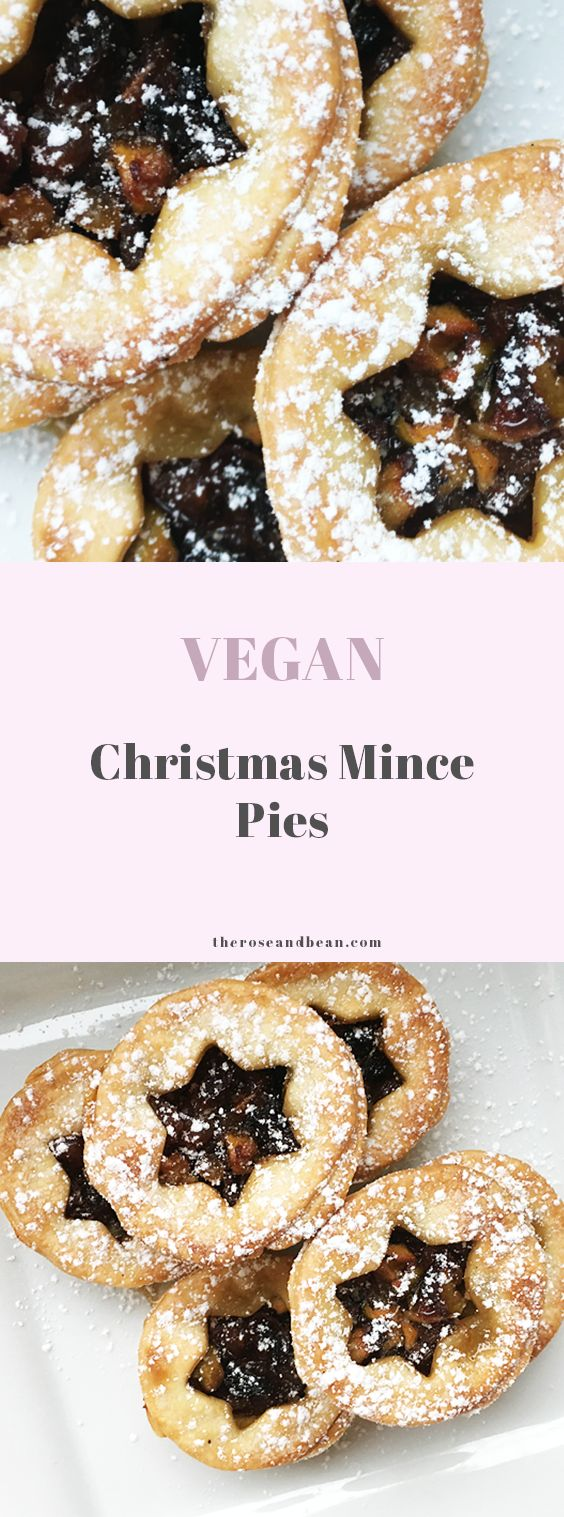 It's not Christmas without mince pies, and this recipe for vegan mince pies is  the perfect Christmas treat