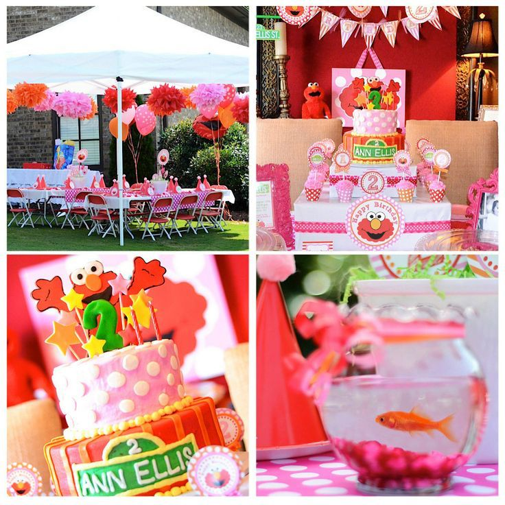 38 best elmo birthday party ideas images on pinterest elmo party girl elmo party like the top of cake with the stars and number solutioingenieria Images