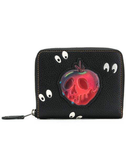 7b12969ef86 Coach top zip Snow White wallet