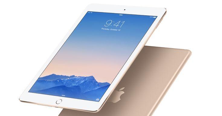 El iPad Air 2 trae un poderoso chip AX8, una increíble pantalla Retina…