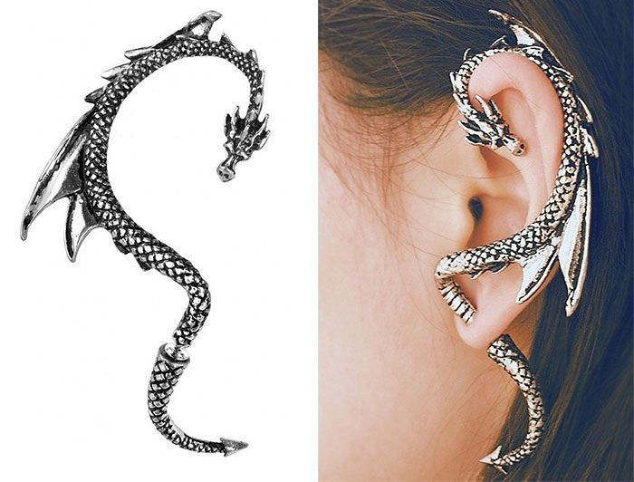 Dragon Ear Wrap Earring