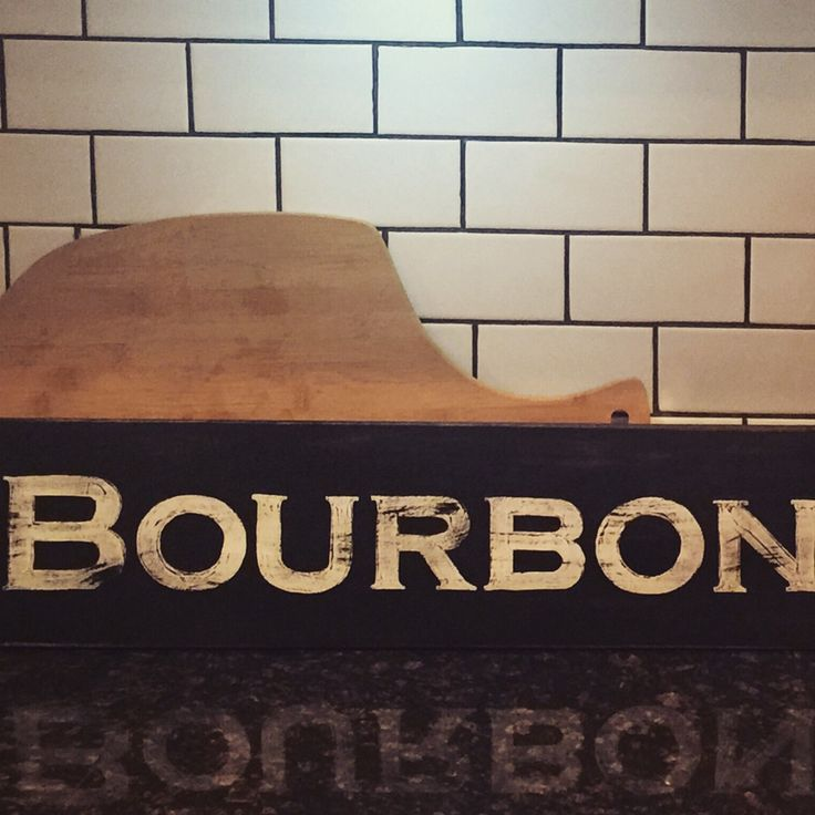Bourbon Room signs are so popular as well as Wine Tasting Room and Whiskey Room signs. Bourbon is big especially if you're from Kentucky or just want to feel you are! Custom sized to your specs. This one measures 36 inches x 4 inches.