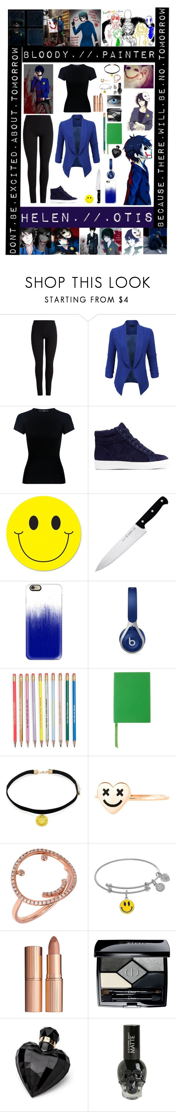 """1e5010e4f3c29cec9c0af1e8bc7a4da1  bloody painter painters - """"Bloody Painter"""" by laughingjacksdaughter ❤ liked on Polyvore featuring LE3NO,..."""