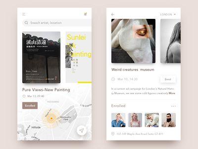 Exhibition activities app