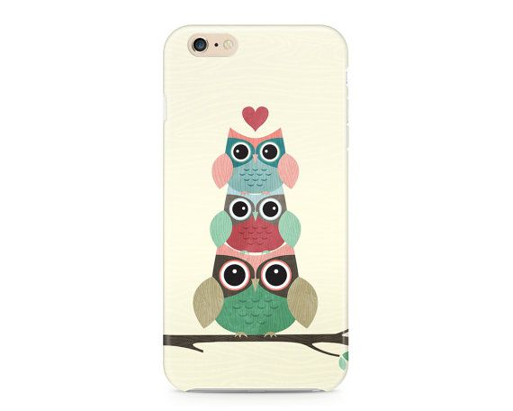 Owl Always Love You Phone Case, Cute Owls Phone Case, Woodland Creatures Phone Case, Whimsical Phone Case, iPhone, Samsung Galaxy