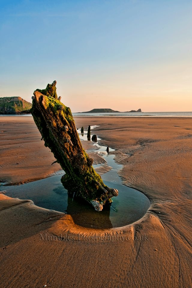 Rhossili Beach. What a view. Gower coast is a stunning place to visit. Photo c/o Mumbles Photography.