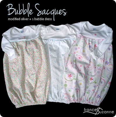 this bubble sack looks super easy and great for beginners.  I am thinking of making a larger one for baby girl as a nightgown