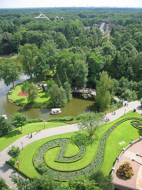 Uitzicht vanuit de Vliegende Pagoda