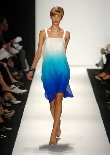 Badgley Mischka Spring 2008 Ombre dress