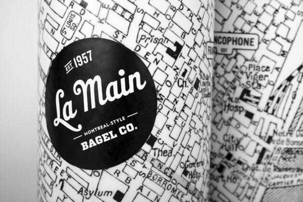 Packaging In Brief: La Main Bagel Co.