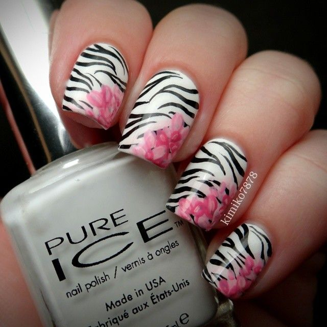 Instagram photo by kimiko7878 #nail #nails #nailart