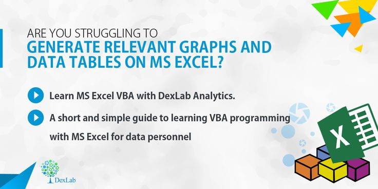 #MSExcelVBA programmings training from #DexlabAnalytics you will learn to handle excel attachments with mail and other elemental skills of Excel to be a successful #datascientist.