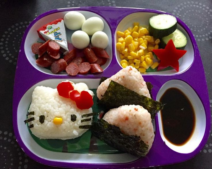 Hello kitty bento lunch for my girl