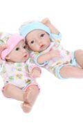 100% Silicone Baby Doll Twin Silicone Dolls – 25cm Twins  $229.00