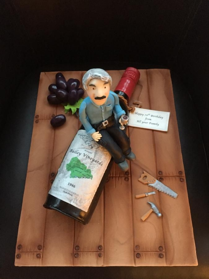 1000+ ideas about Wine Bottle Cake on Pinterest Bottle