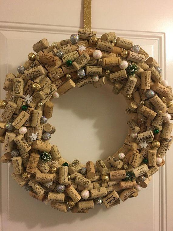 Corona de corcho del vino