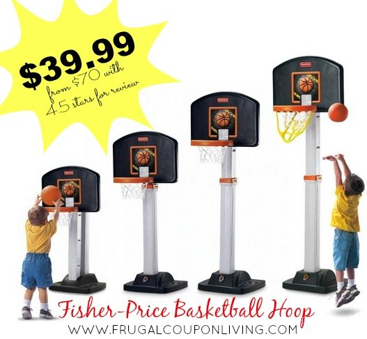 Fisher-Price Basketball Hoop Sale Only $39.99 From $69.99 #ToyDeals #HotDeals