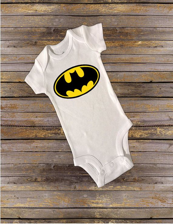 Check out this item in my Etsy shop https://www.etsy.com/listing/521753899/batman-onesie