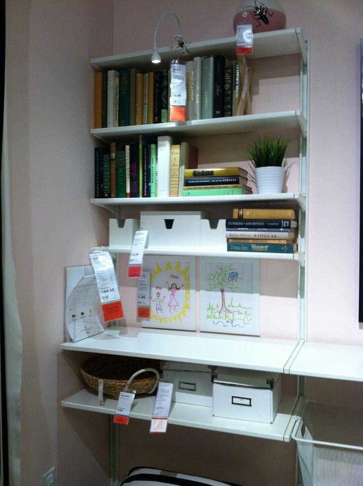 Captivating Ikea Wall Shelves ALGOT