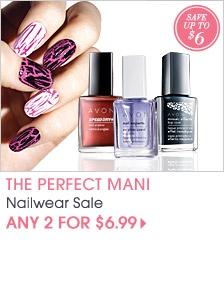 AVON - Love their polish always under $10 and long lasting.