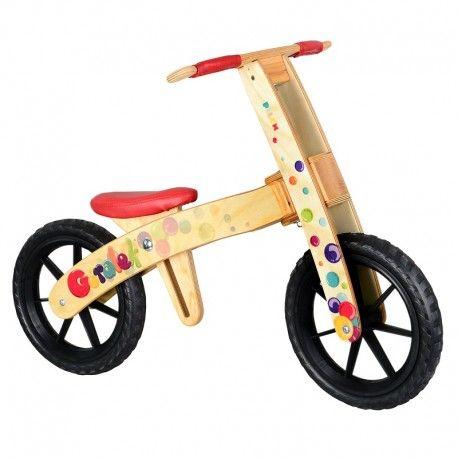 Piątek:) Weekend przed nami:)  Góralek Pilch 110215 - Rowerek - Jeździk bez Pedałów w Kolorowe Bąbelki dla dzieci od 3 do 4 lat.   Dzieci odpychając się nóżkami wprawiają Góralka w ruch, ćwiczą równowagę.  Czy jest wykonany z drewna?   Sprawdźcie sami:)  http://www.niczchin.pl/zabawki-do-ogrodu/2412-goralek-pilch-drewniany-rowerek-biegowy-kolorowe-babelki.html  #rowerek #jezdzik #pilch #zabawki #niczchin #krakow