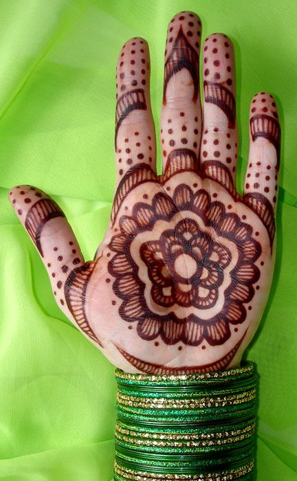 Henna on palm paste off day 2. I would love to have my hands and feet done.